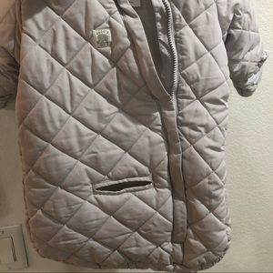 Carters Baby puffer jacket carseat compatible